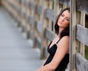 http://www.dreamstime.com/royalty-free-stock-photo-woman-wooden-bridge-image22902815