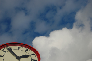 http://www.dreamstime.com/stock-image-just-time-clock-image11726751